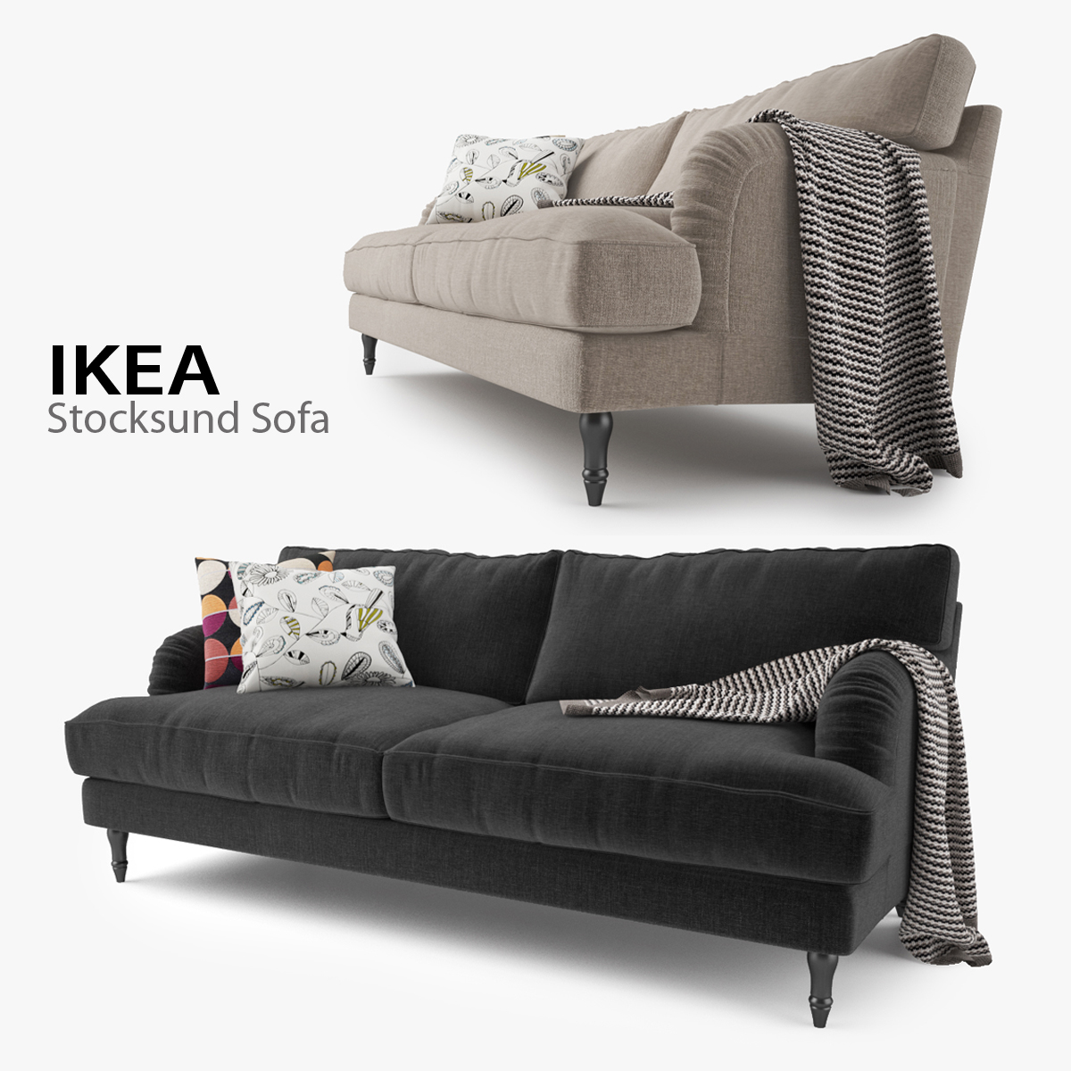 Magnificent Ikea Stocksund Sofa Dailytribune Chair Design For Home Dailytribuneorg