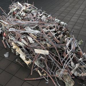 3d model dump scrap