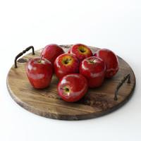 apples 3d max