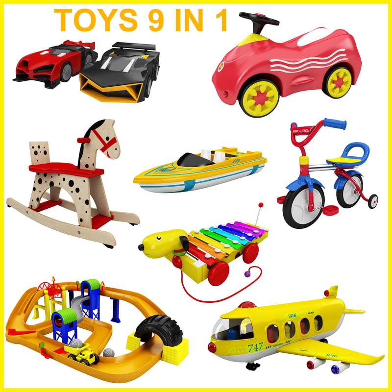 toy 9 1 3d 3ds