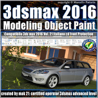 021 3ds max 2016 Object Paint vol 21 Cd Front