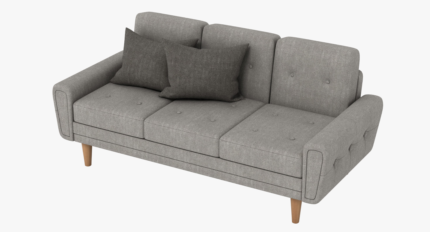max harvey sofa blue classic