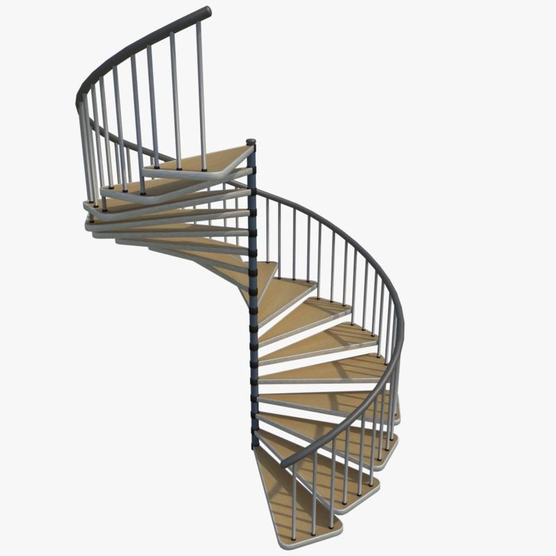 blend spiral stair