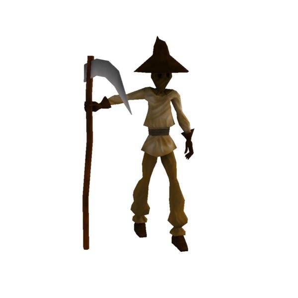 scarecrow 3d ma