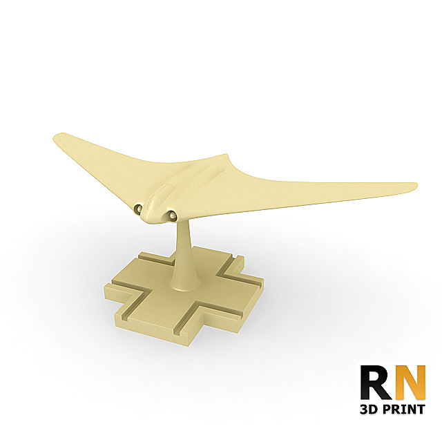 3d print german stealth fighter