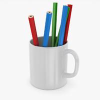 pencil cup x