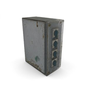 power box 3d model