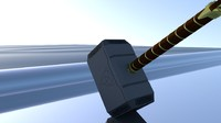3d max thor hammer