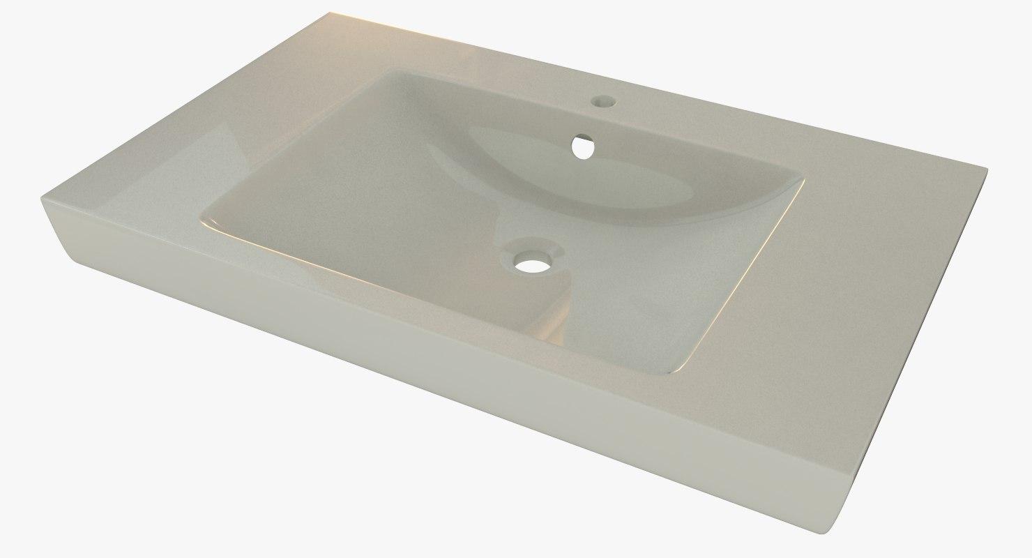 ikea odensvik sink 3d model