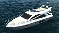 free florida yacht 3d model