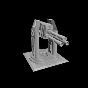 blend tri-gun laser