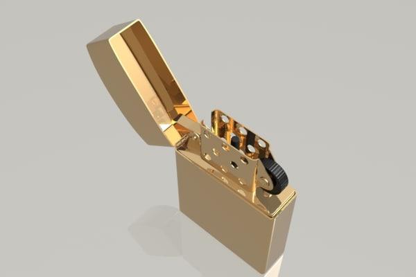 3d modeled luxology modo model