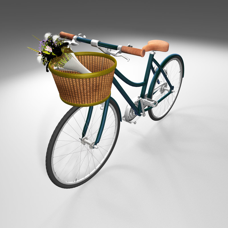 maya rigged bike