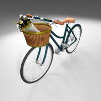 maya rigged bike