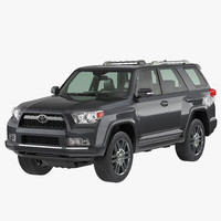 3ds max toyota 4runner 2012