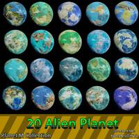 planets m 3d model