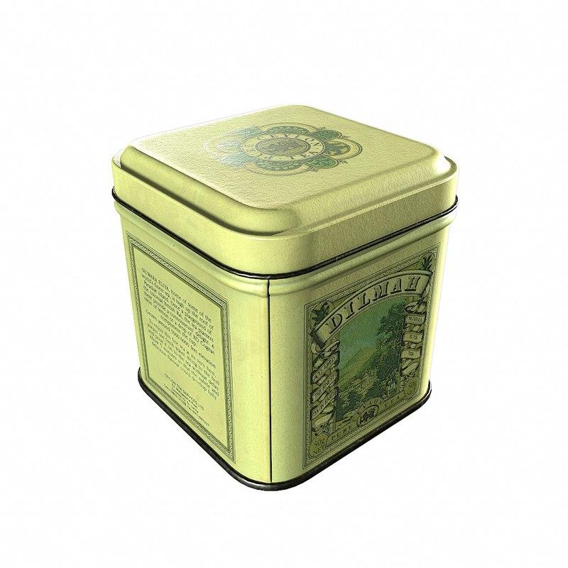 3d fbx dilmah tea box