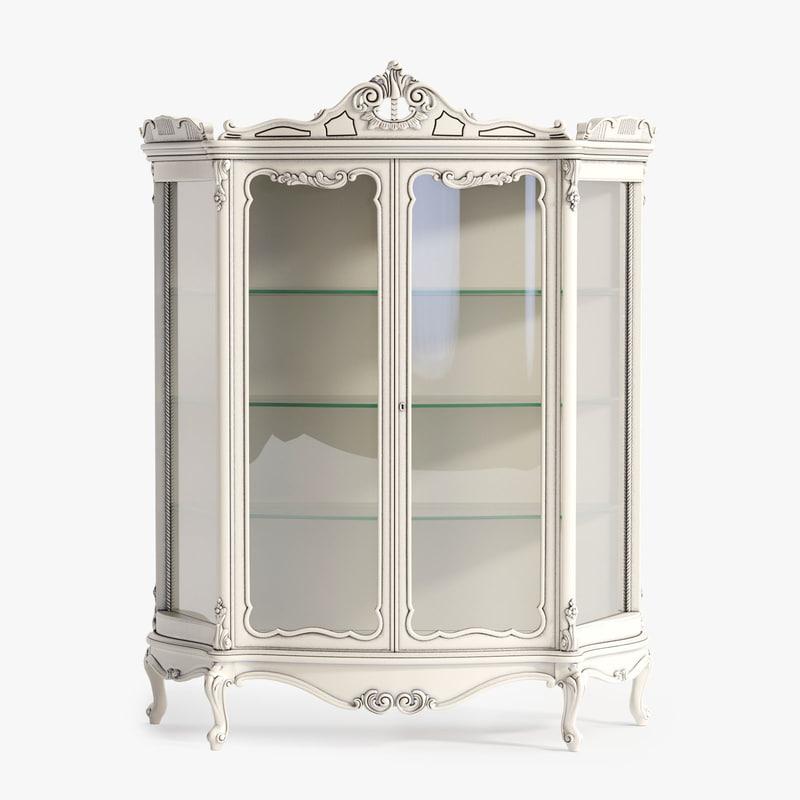 3ds max minerva glass cabinet
