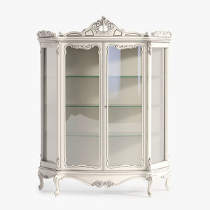 3ds max minerva glass cabinet