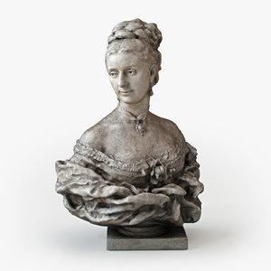 3d classical sculpture jean-baptiste carpeaux