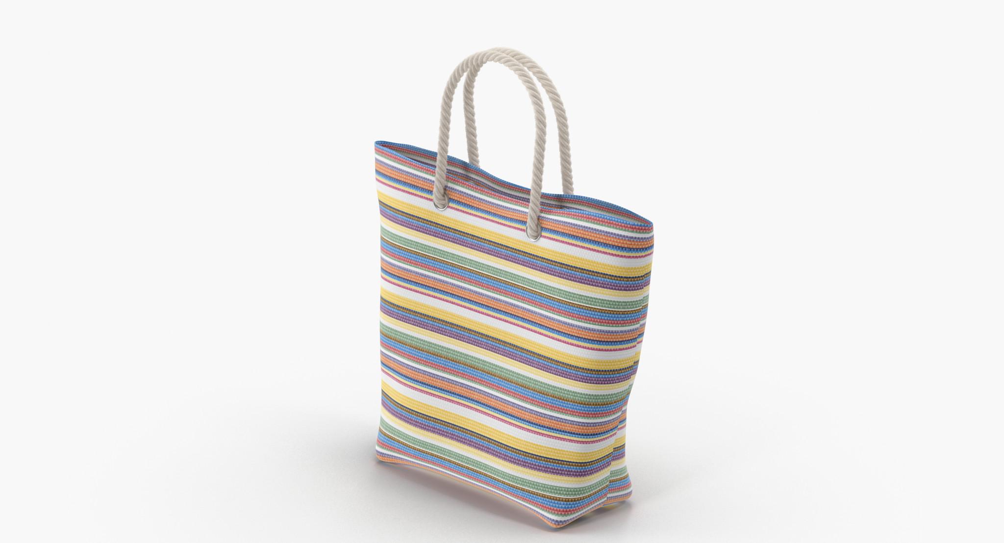 3d woman bag model
