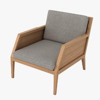 3dsmax raffa chair
