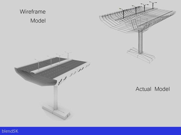 3d highway construction kit - model