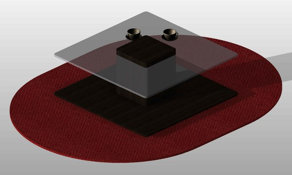 3d modern coffee table 05 model