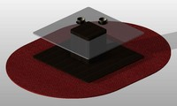 3d modern coffee table 05 model