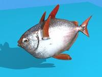 opah fish 3d max