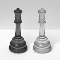 3ds queens black white