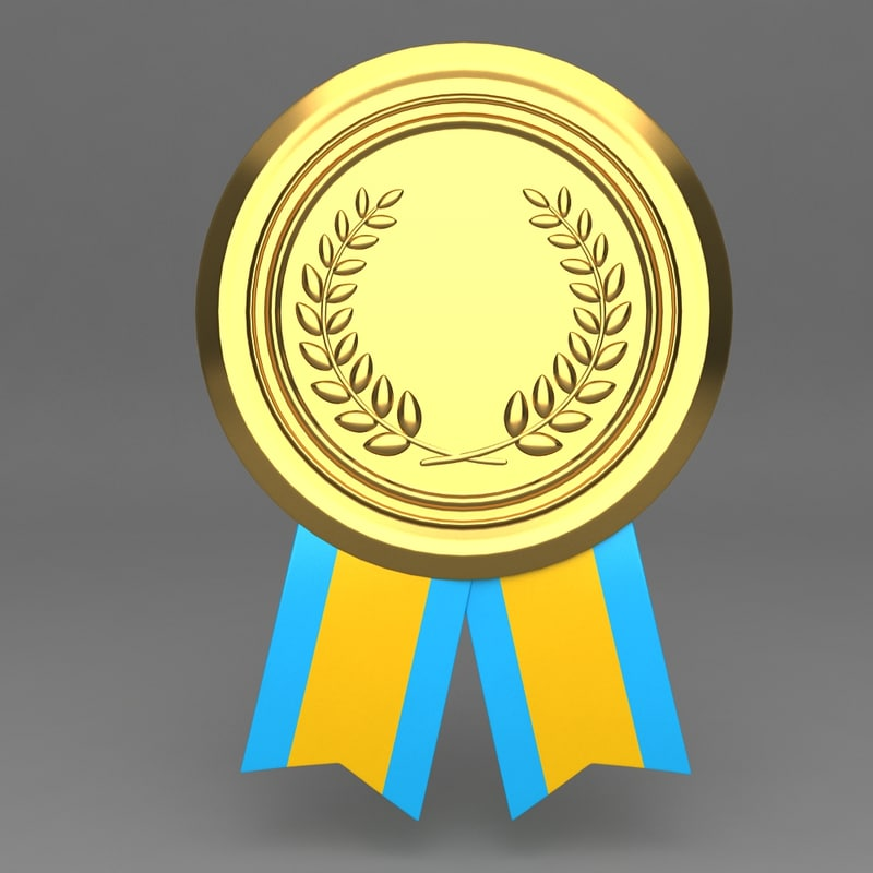 3d model medal