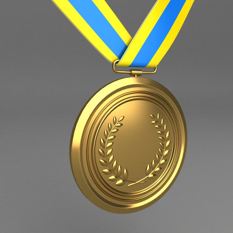 3d medal model