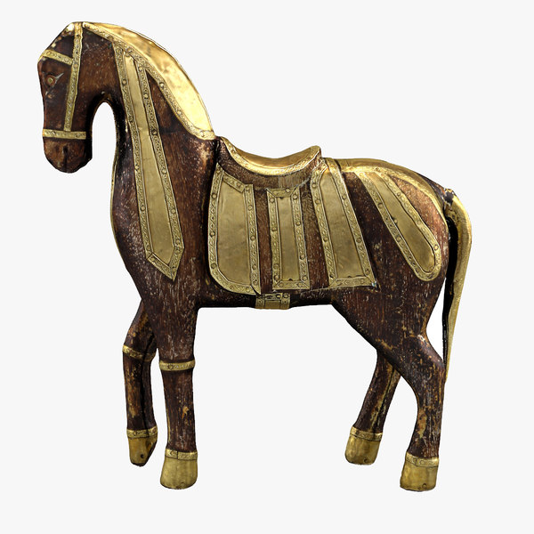 3d model trojan horse