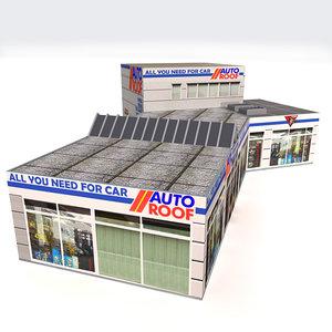 3dsmax car dealer