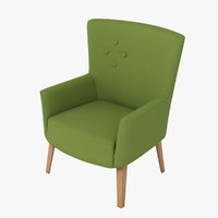 3d model love chair camphill -