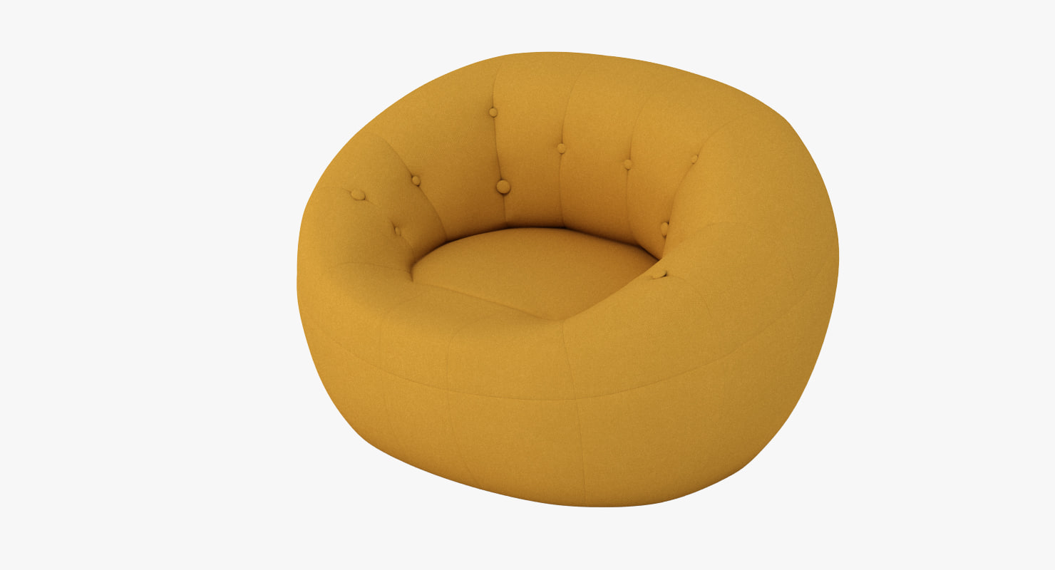 3d max capsule chair zippy