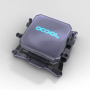 3d cpu cooler model