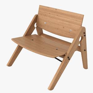 wood chair max
