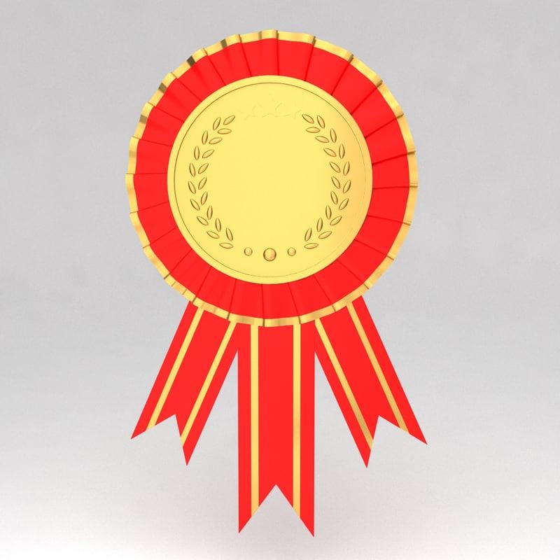 3d awards medal