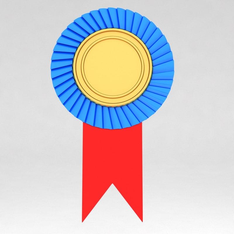 3d awards trophies model