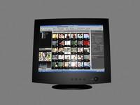 maya crt monitor