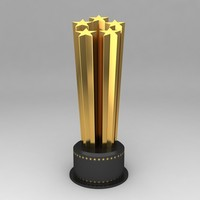 3dsmax awards trophies