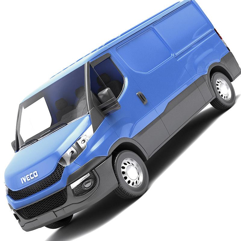 3d model 2015 van iveco