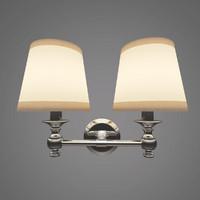 3d bathroom lamp model