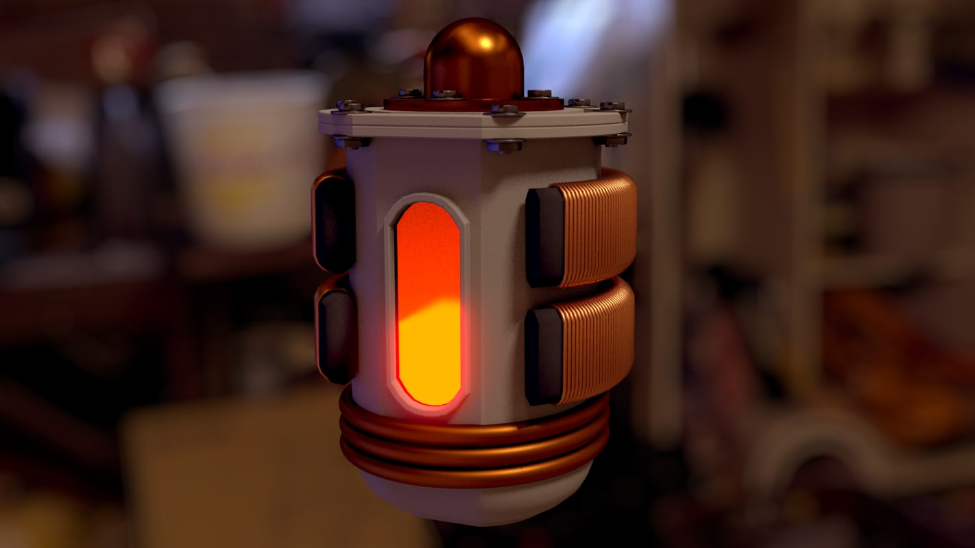 reactor 3d model
