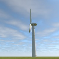 windmill grows c4d