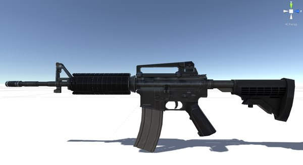 maya carbine rifle ready