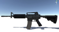 Game Ready M4a1 Carbine Rifle