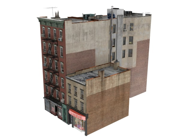 3d model nyc building architectural